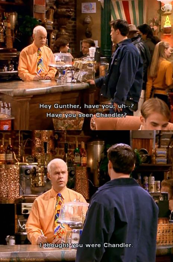Gunther-friends